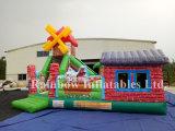 Funcionalidade inflável da terra da fazenda, Slide Combo Slide Inflável e Bouncer for Kids
