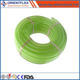Tubo flessibile di plastica di rinforzo intrecciato fibra flessibile del PVC della radura