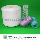Le polyester a enveloppé l'amorçage de couture tourné par faisceau de polyester