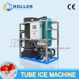 automáticamente control 5tons de la máquina de hielo del tubo