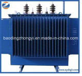 Transformateur de pétrole d'enroulement d'en cuivre de transformateur de distribution d'énergie de S11 20/0.4kv