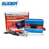 Suoer 12V 220V 600W Sonnenenergie-Inverter mit Antiinput-Vorbehalt-Anschluss (SAA-D600AF)