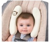 Het U-vormige Hoofdkussen van de Hoofdsteun van de Auto van het kind/het Cervicale Hoofdkussen van de Reis