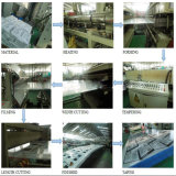 ポリカーボネートの10年の保証のためのAnti-Fog 4つの壁空シート