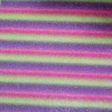 Couro artificial do falso colorido do Glitter do inclinação para sapatas, sacos, decoração, mobília (HS-Y93)