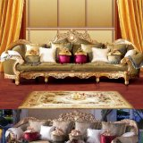 木のソファーはホーム家具(D962)のためのソファーの椅子とセットした