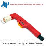 Сварочный огонь факела плазмы воздуха головки факела PF0080 Trafimet CB150