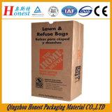 Белизна и мешок Brown Kraft бумажный для упаковки еды