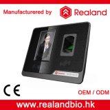Système facial biométrique de service de temps d'identification de Realand