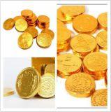 Máquina de la cubierta y del nudo para el chocolate de la moneda
