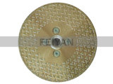 Segmentierte schützende galvanisierte Schaufel für Marmor