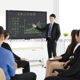 Howshow tablette de retrait d'affichage à cristaux liquides de conférence de 57 pouces pour des meubles de bureau