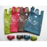 Sacchetto di Tote piegante di nylon ecologico riutilizzabile della borsa di acquisto di vendite calde