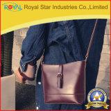 Singola borsa delle donne dell'unità di elaborazione del sacchetto di spalla di modo del Brown