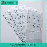 Bandeja de cartão branca do PVC para a impressora de Epson L801