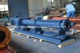 Xinglong廃水処置で使用される下水汚泥およびポリマーのための肯定的なキャビティねじポンプ