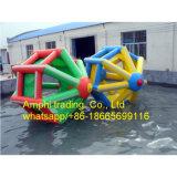 販売のための催し物の膨脹可能な水歩く車輪か巨大なローラーの水または球
