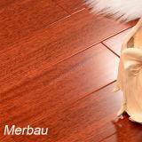 단단한 난방 경재 마루 Merbau 편평한 목제 마루