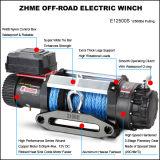 argano sintetico potente elettrico della corda 12500lbs 4WD