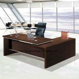 木の現代オフィス用家具MFCのL形表