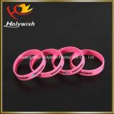 Fornecedor feito sob encomenda relativo à promoção de China do bracelete do Wristband do silicone
