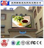 Qualité d'Afficheur LED extérieur de HD P6 bonne polychrome pour la publicité