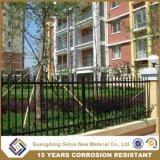 Утюг высокия уровня безопасности или загородка алюминия для сада