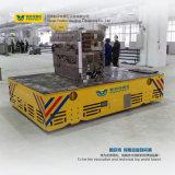 Acoplado que da material orientable para el transporte de la máquina de la planta del bastidor