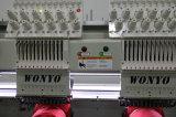 6 رؤساء المحوسبة آلة التطريز لتي شيرت / قبعات الصناعة مع شاشة كبيرة تعمل باللمس (WY-906C)