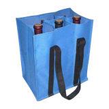 Refroidisseur de support de chemise de bouteille de vin du néoprène de trois bouteilles