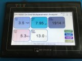 L'aquaculture traitement de l'eau pH Ec Do Fonct Tem 5 en 1 contrôleur analyseur de qualité