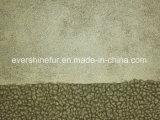 結合の毛皮ファブリック衣服のための巻き毛の毛皮の偽造品の毛皮ののどの毛皮の人工毛皮