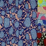 Ткань шнурка французского химически домашнего тканья африканская для повелительницы Одежды/платья