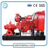 Horizontales Aufspalten-Gehäuse zentrifugale Wasser-Pumpe mit Dieselmotor