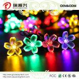 Luces de hadas de la cadena de la flor solar impermeable