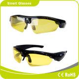 Vidrios elegantes de las gafas de sol de la aptitud del receptor de cabeza de Bluetooth de la manera
