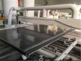 Scheda ad alta densità della gomma piuma del PVC dei forex dei nero 4 x 8