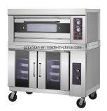 [دووبل-لر] [توو-ترس] كهربائيّة فرن مطبخ مع يبني في مخبز