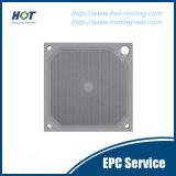 250-3200 placca a pressione idraulica del filtro dall'alloggiamento di formato pp