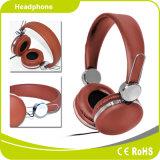 Nueva alta fidelidad accesorios de computadora PU auriculares