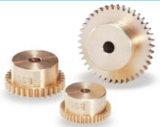 Módulo pequeno de bronze da engrenagem de dente reto do módulo pequeno