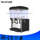 コマーシャル2タンク電気冷たくおよび熱いジュースの飲料ディスペンサー