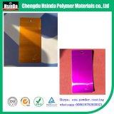 Capa para el final del metal, capa del MDF, capa de cristal del polvo