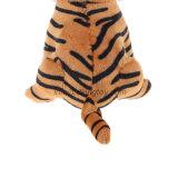 Jouet de peluche bourré par tigre réaliste d'animal sauvage de qualité