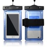 De waterdichte Mobiele Dekking van de Gevallen van de Telefoon voor de Gloed van iPhone in het Donkere Waterdichte Geval van het Water voor de Melkweg van Samsung