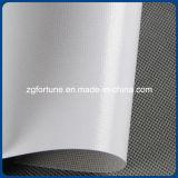 Lona posterior gris clara arriba brillante del poliester del rodillo de la lona de pintura de la inyección de tinta del Eco-Solvente