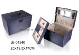 Caja de joyería Negro del bolso de mano diseño clásico