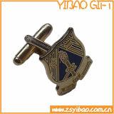 Cufflink золота, зажим связи для выдвиженческих подарков сувенира (YB-r-014)