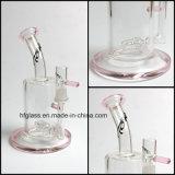 3개의 팔 Perc Hookahs 관 크기 분홍색을%s 가진 유리제 연기가 나는 수관 새로운 7.5 인치 Toro