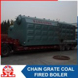 De industriële Szl 10.5-1.25MPa Boiler van het Hete Water van de dubbel-Trommel Horizontale Met kolen gestookte